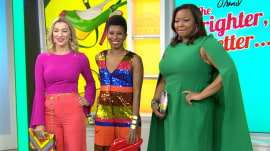 How to pull off bright fashion colors: It's Tamron's Tuesday Trend