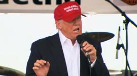 Donald Trump stirs controversy at veterans' event in Washington