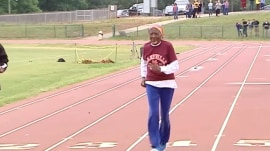 100-year-old retired teacher sets 100-meter race record