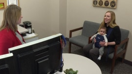 Moms can bring babies to work, thanks to new state policy