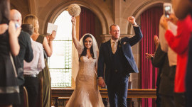 See this couple's 'Harry Potter'-themed wedding