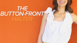 How to create a stylish halter top