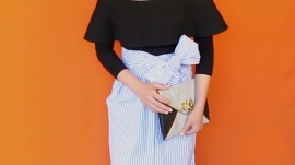 How to tie a shirt skirt