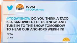 Is a taco a sandwich?