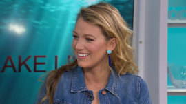 Blake Lively on Ryan Reynolds: He changes the diapers!
