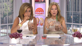 Hoda tries Starbucks' new Double Double Fudge Bar Frappuccino