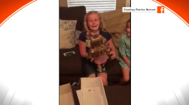 Girl with prosthetic leg: 'Thank you for making a doll like me'