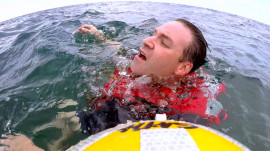 Dramatic water rescue: How to survive being stranded at sea
