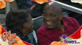 Al Roker and his wife Deborah Roberts are caught on Mets Kiss Cam!