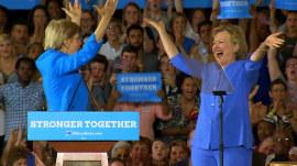 Why Elizabeth Warren is 'Hillary Clinton's Sarah Palin'