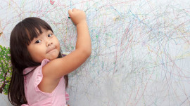 Try this easy trick to get crayon marks off your wall