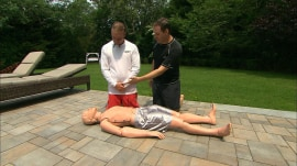 CPR: Jeff Rossen shows how to do it in an emergency