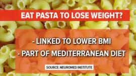 Pasta isn't fattening, Italian researchers claim
