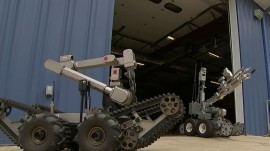 Remote-control bomb robots: Law enforcement's new technology