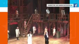 'Hamilton' star Lin-Manuel Miranda takes final bow, chops ponytail