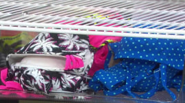 Genius beach hacks: A diaper bag makes a handy tote bag