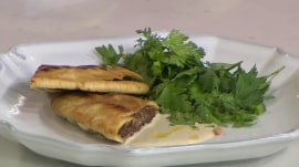 Beef and lamb arayes: Israeli chef Ruthie Rousso grills them up