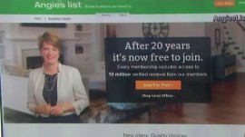 Angie's List now offers free access to home improvement reviews