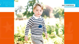 Prince George is 3! See his new photos (including one with dog Lupo)