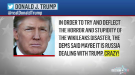 Donald Trump on DNC leaks: 'I have zero investments in Russia'
