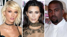 Kim Kardashian reignites feud between Kanye and Taylor Swift over 'Famous'