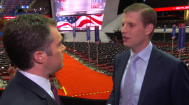Eric Trump to Ted Cruz: Don't come on stage if you won't endorse my dad