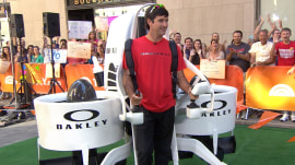 Bubba Watson unveils jet-pack, reveals plans for Olympics