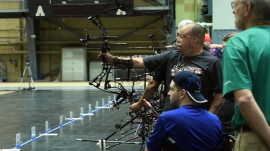 Warrior Games highlights benefit of sport for wounded vets