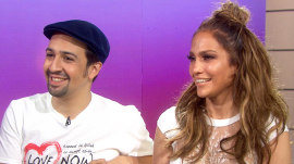Jennifer Lopez: I 'stalked' Lin-Manuel Miranda into singing with me