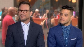 Christian Slater, Rami Malek preview 'Mr. Robot' season 2