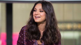 Mila Kunis on baby No. 2 with Ashton Kutcher, 'Bad Moms' role