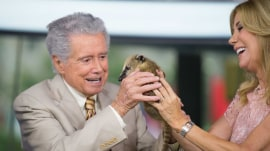 'What's a coati?' See Regis come face to face with baby critters