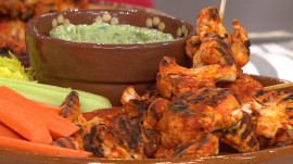 Joy Bauer cuts the calories from chicken wings, potato salad