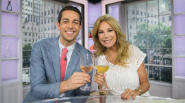 KLG to guest co-host Zachary Levi: 'You're not Hoda!'