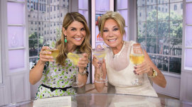 Kathie Lee welcomes Lori Loughlin as guest co-host