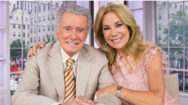 KLG and Regis are back together again (in their same seats!)