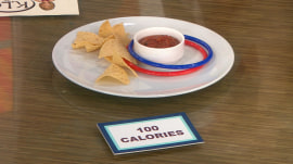 These savory snacks have only 100 calories… or less!