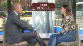 Keri Russell talks 'Free State of Jones,' new baby, Hollywood star