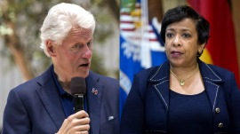 Loretta Lynch under fire after meeting with Bill Clinton
