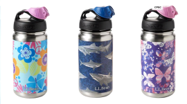 L.L.Bean recalls insulated children's water bottles over lead fears