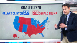 These are the blue states Donald Trump needs to flip red to win