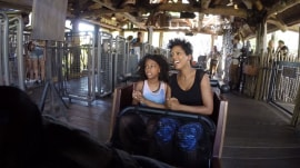 Tamron Hall takes her nieces on a Universal Orlando adventure