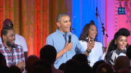 President Obama serenades daughter Malia for her 18th birthday