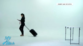 New 'My Hitch' suitcase will free your hands at the airport