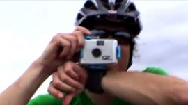 Web extra: See an early GoPro prototype that's only a wrist strap