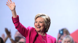 Hillary Clinton becomes Democratic nominee, making history at DNC
