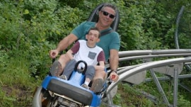 Father celebrates son with rare disorder's 30th birthday with 30 activities