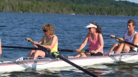 Visually impaired group takes on new challenge – learning to row