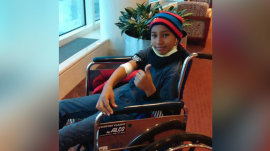12-year-old boy finally goes home with a new heart