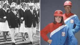 See Team USA's Olympic Opening Ceremony outfits through the years